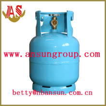 7,2 L Stahl Gasflasche