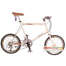 Bicicleta de carretera Alloy14 Speed ​​Mini Velo de 20 pulgadas