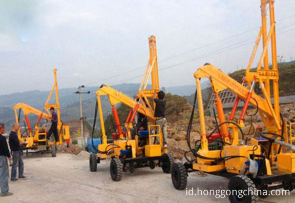 Highway Piling Machine