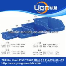Zhejiang Taizhou Huangyan Kunststoff-Container Spritzguss Lebensmittel Lagerung Behälter Schimmel