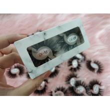 3D 5D 25mm Mink Eyelash 2 Pair Per Packaging Box Eyelash Package Box Flase Lash Eyelash