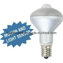 6W E17 LED Motion and Light Sensor LED Light