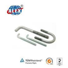 Spezial Fastener U Ankerbolzen mit HDG Oberfläche