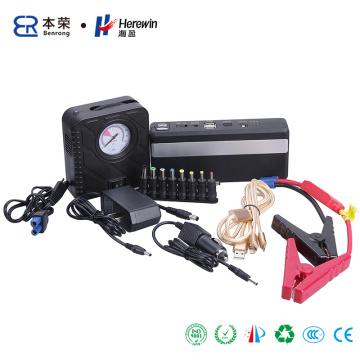 Emergency Car Jump Starter. Rechargeable Li-ion Battery