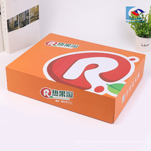 Chinese suppliers Custom Printed shoes corrugated packaging box