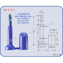 container seal BG-Z-013 bolt seal