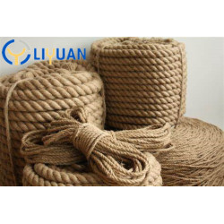 3 Strand 3/8'' manila rope used for boat