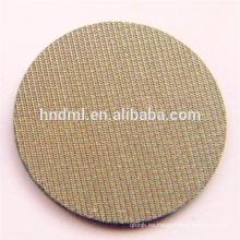 1 micra de cinco capas de malla de alambre tejido sinterizado de acero inoxidable