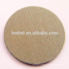1 micron Five layers stainless steel sintered woven wire mesh