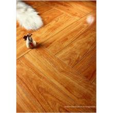 Hogar 12.3mm Mirror Walnut Sound Absorbing Laminated Flooring