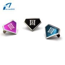 Accesorios de bolsa de metal personalizados Etiqueta y logotipo de metal