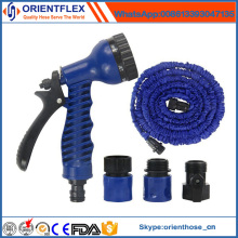 Tuyau expansible flexible / tuyau extensible d'arrosoir avec le pistolet de pulvérisation