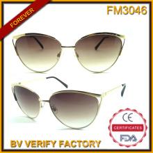 FM3046 Latest Designed Vogue Ladies Style Metal Frames Sunglasses