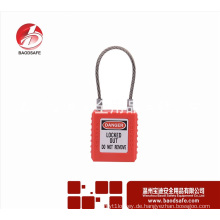 Wenzhou BAODSAFE BDS-S8651Red Kabel Sicherheit Vorhängeschloss Locko Loto Schloss
