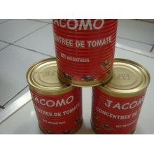 Pasta de tomate Brix: 22-24% / 28-30%