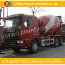 Caminhão do misturador concreto de 6 * 4 HOWO 375HP 14cbm