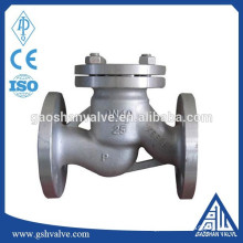 stainless steel flange natural gas check valve