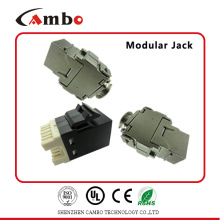 China cat6 cat7 keystone jack Conexão rápida e confiável