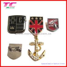 Hochwertiges kundenspezifisches Metallrevers-Pin-Abzeichen