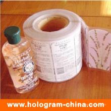 Custom Design Cmyk Cosmetic Sticker Label Printing
