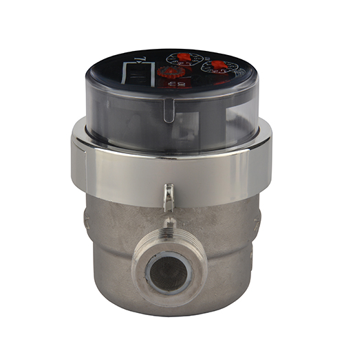 Stainless Steel Water Meters Piston Type Volumetric Household Drinking Water Meters