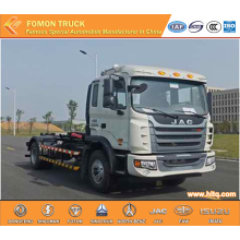 JAC 4x2 160hp 10CBM hook arm refuse truck