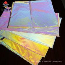 Hot Sale Latest Design High Light Rainbow Reflective Fabric for Sportswear