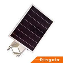 6W LED intégré tout dans une lampe de rue solaire de sonde