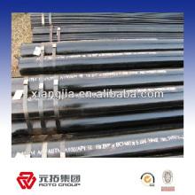 Precio de fábrica galvanizado / pregalvanized api 5l x52 precio de línea de tubería sin costura hecha en China