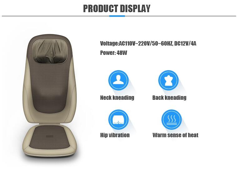S Mode Car Seat Massage Cushion