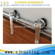 Herrajes para puertas corredizas de acero inoxidable para accesorios de puertas (LS-SGS 518)