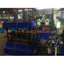 Middle Duty Warehouse Tire Storage Pipe Metal Roll Forming Production Machine Singpore