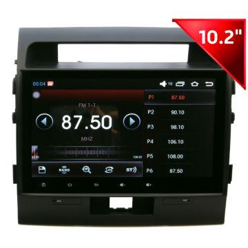 Dispositivo de carro para MP5 / GPS / Bt / iPod / iPhone 5s para Toyota Landcruiser (HD1006)