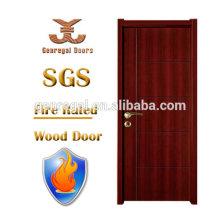 BS Hotel 30mins 60mins porta de madeira resistentes ao fogo