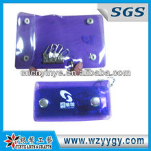 Promotional Purple Pvc Key Cases / Wallets