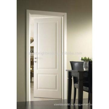 Окрашенная в белый цвет Кустарь деревянная дверь для гостиничного номера