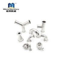 DIN 3A SMS 304 / 316L Сантехнические фитинги из нержавеющей стали для продажи