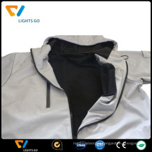hi vis glow in the dark jacket/reflective jacket for safety/glow in the dark jacket
