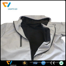 привет ВИС зарево в темной куртке/отражательная куртка безопасности/зарево в темной куртке