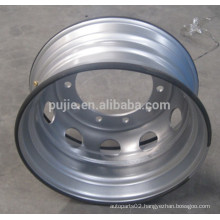 Top Quality Truck Steel Wheel Rim 22.5*8.25 silver