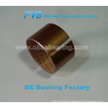 SF-2(DX) boundary lubricating self lub bush, Motorized linear slide bearing, Marginal lubrication bush bearing