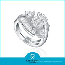 Promocional exagerando design de anel de prata esterlina 925 (J-0184)