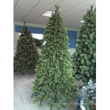 Arbre de Noël artificiel avec des lumières (5 pieds jusqu'à 60 pieds)