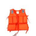 Chaleco salvavidas de espuma de polietileno (naranja)