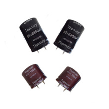 Snap in Aluminum Electrolytic Capacitor 105c Tmce18-19
