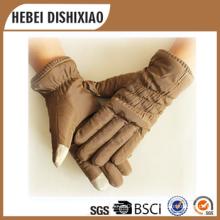 2016 Фабрика оптового сенсорного экрана перчатки леди перчатки Alibaba перчатки