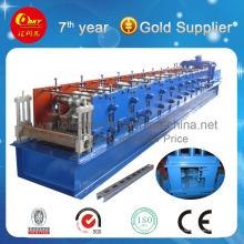 Máquina formadora de rollos de acero C Purlin