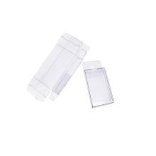 Caja de presentación de plástico transparente colgante pequeña personalizada