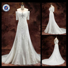 WA00075 Hot applique for Real sample wedding dress