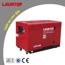 10.0kw silent diesel generator with 20hp(954cc) Lombardini twin cylinder engine